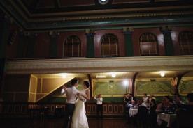 Melbourne-wedding-fitzroy-town-hall-first dance