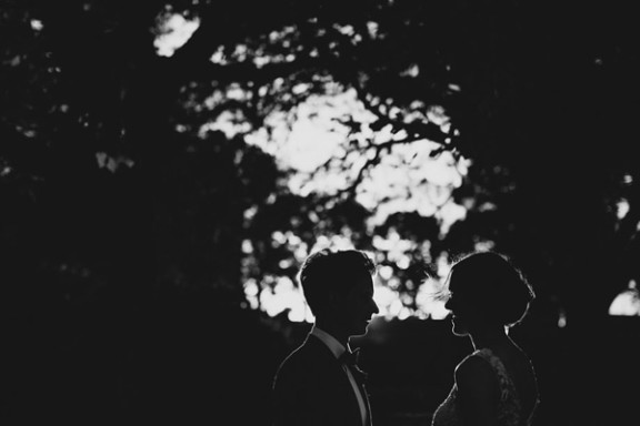 Melbourne-wedding-silhouette