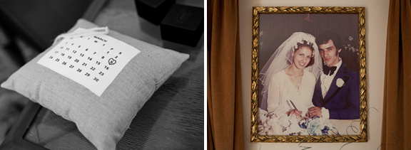 vintage-wedding-photo-gold-frame