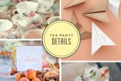 Styleboard: Tea Party Wedding