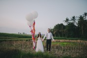 Mitch & Alyssa's Colourful Bali Wedding