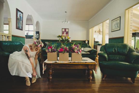 retro 60s wedding Dan ODay Photography 04