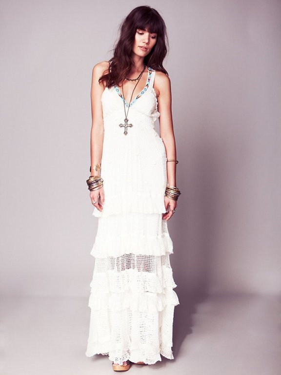 Free People boho wedding dress 02