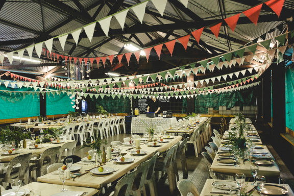 Eclectic camping wedding Wisemans Ferry 39