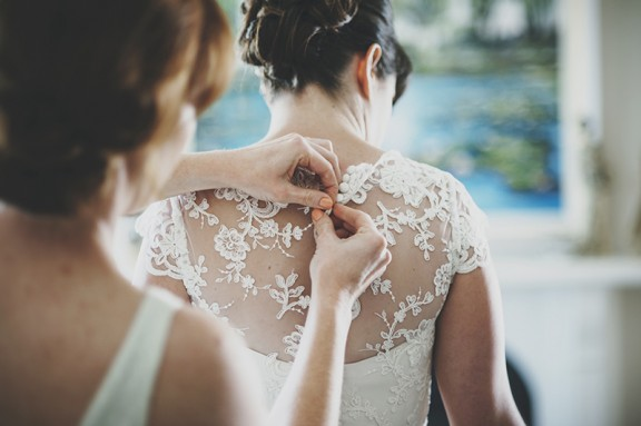 Elvi Design lace wedding dress