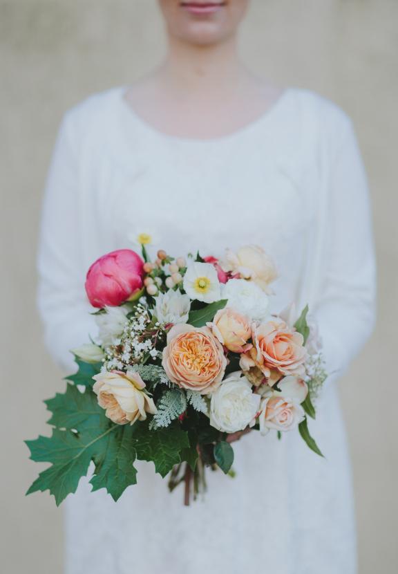 Peony bouquet by Prunella
