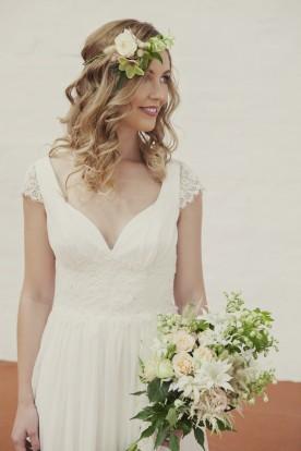 Boho wedding dress by Elvi Design - Perth bridal label