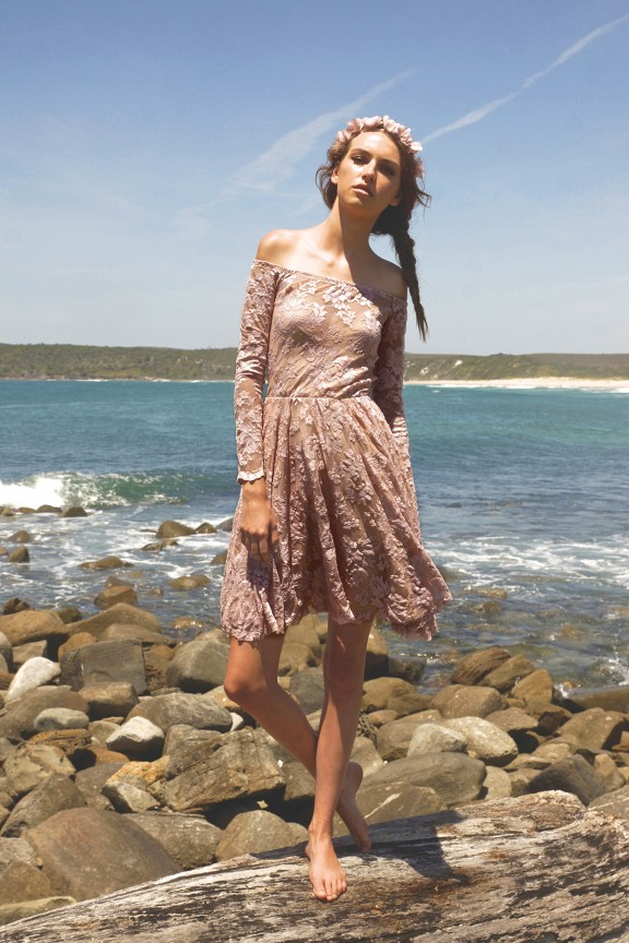 boho bridesmaids dresses by For the Love of Grace Driftwood collection