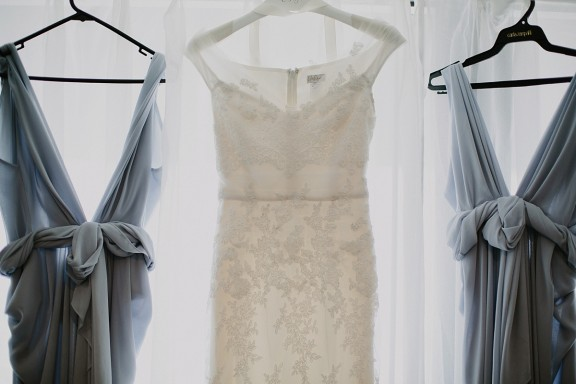 Collette Dinnigan wedding Dress Carla Zampatti bridesmaid dresses