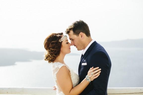 Santorini wedding Love Katie and Sarah 11