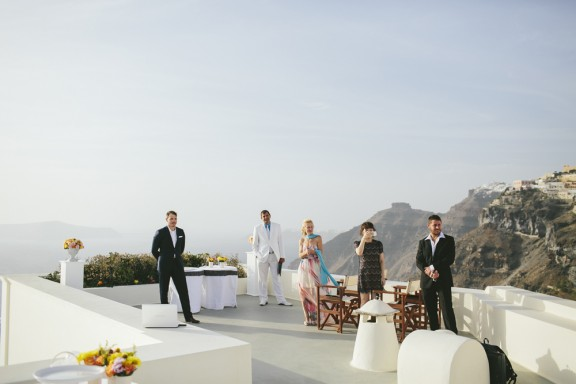 Santorini wedding Love Katie and Sarah 18