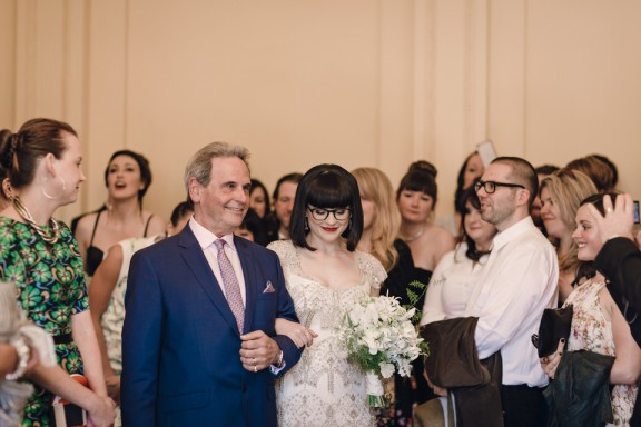 Medley Hall Art Deco wedding photographed by Eric Ronald Melbourne