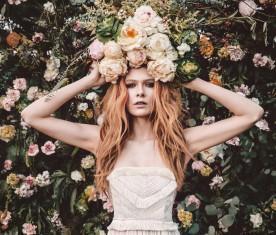 Iris Fringe Gown | Mara Hoffman Bridal 2015