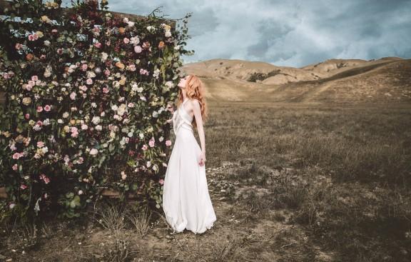 Persephone Fringe Gown | Mara Hoffman Bridal 2015