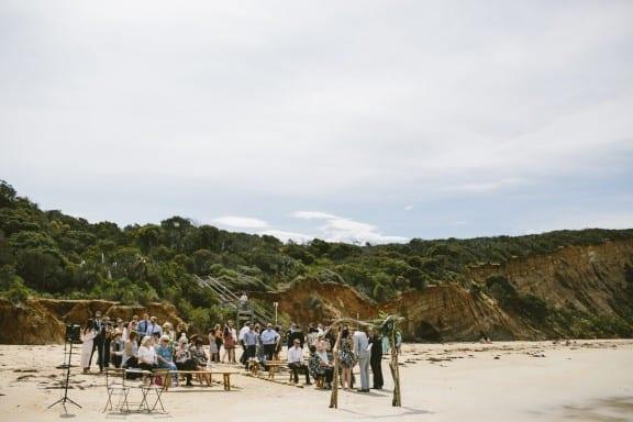 Surf Coast beach wedding by Love Katie & Sarah