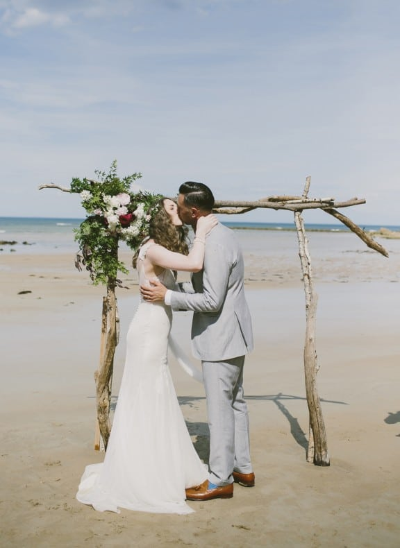 Surf Coast beach wedding by Love Katie & Sarah
