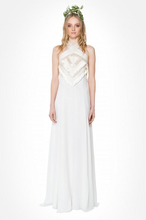 Mara Hoffman Persephone fringe dress | Top 5 wedding dresses under $1000