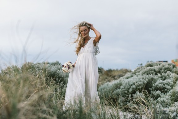 Rue de Seine bridal | Beach wedding inspiration | Alan McDonald Photographer