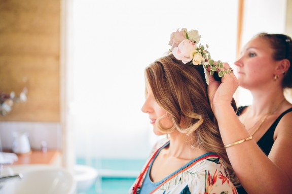 Trentham Cosmopolitan Hotel wedding | Photography by Pierre Curry