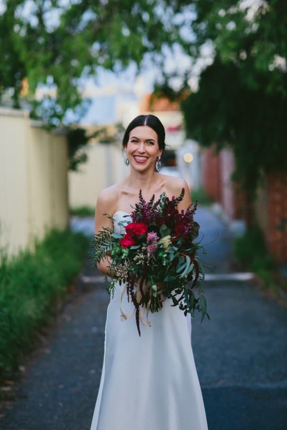 Berry-toned bouquet by Lime Flowers | Still Love Photography