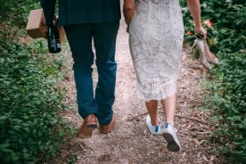 Low key picnic wedding in Belair National Park. Adelaide | Evan Bailey Photography