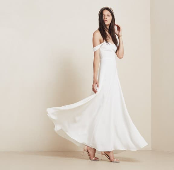 Constance dress by Reformation | Top 5 wedding dresses under $1000