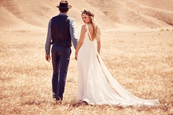 Grace Loves Lace for Free People Bridal | Affordable wedding dresses for the boho bride
