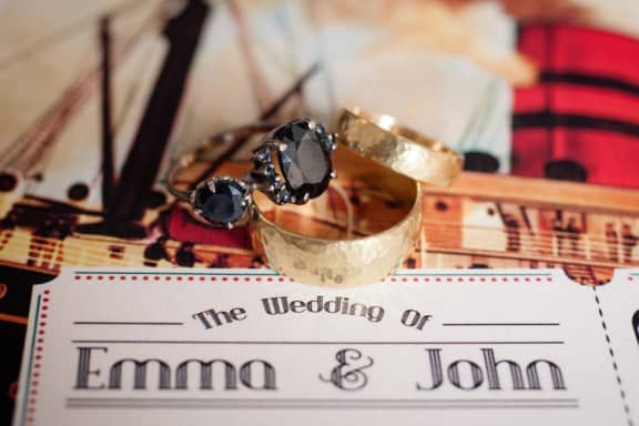 Julia Deville engagement ring | Photography by Samara Clifford