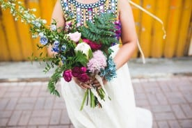 A vibrant industrial wedding with Middle Eastern influence at PSAS, Fremantle   Photography by Keeper Creative