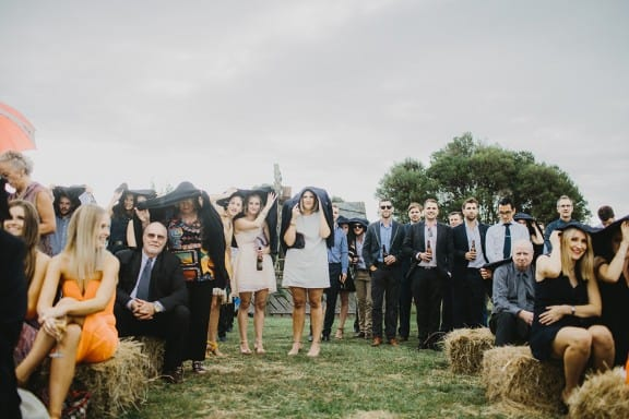 Jess & Adam's rainy farm wedding | Photography by I Got You Babe