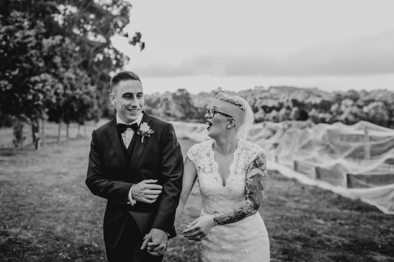 Alternative wedding at Tucks Ridge, Red Hill | Photography by Lucy Spartalis