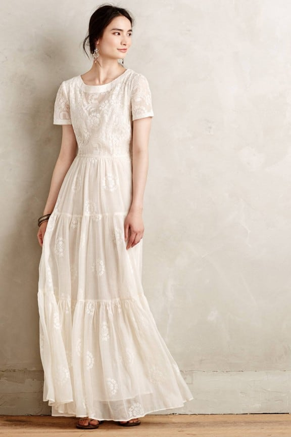 Julys top 5 wedding dresses under 1000 nouba julys anthropologie embroidered lera maxi dress best wedding dresses under 1000 junglespirit Choice Image