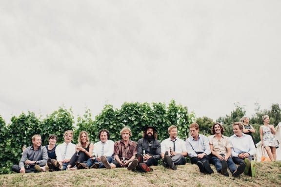 Heriots Point Vineyard wedding in Castle Forbes Bay | Photography by Fiona Vail