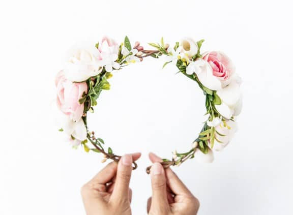 K is for Kani floral headpiece | Top Australian Etsy Stores for Weddings