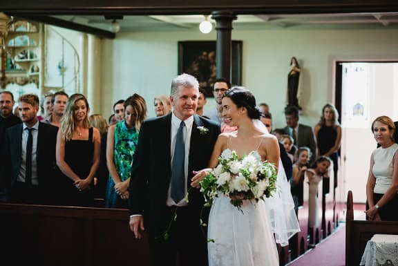 Mercedes College Chapel wedding | Photography by CJ Williams