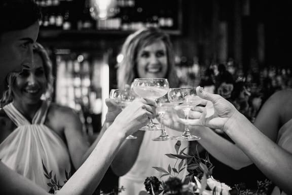 Modern Perth wedding at Halcyon Pinxos & Wine | Photography by CJ Williams