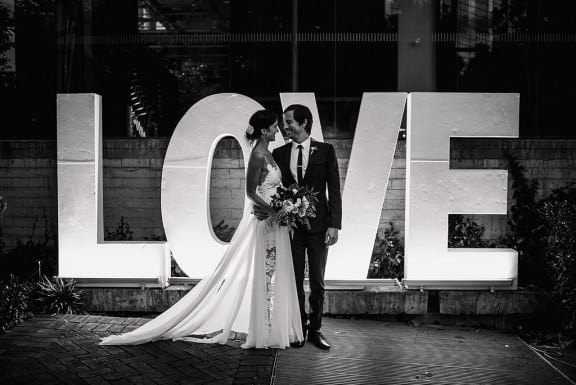 Modern Perth wedding at Lamonts Bishops House | Photography by CJ Williams