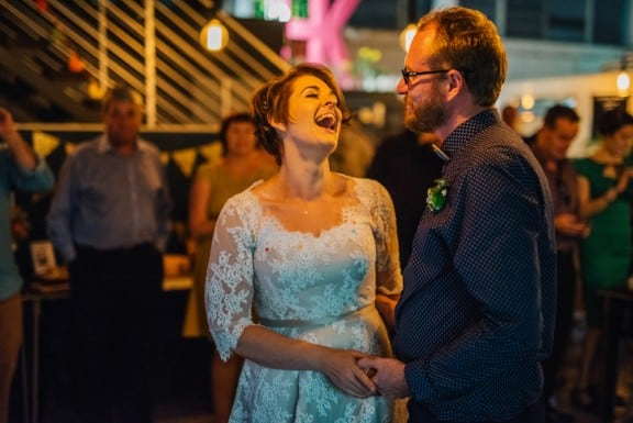Epic warehouse wedding at Brisbane's Wandering Cook | Photography by The Gehrmanns