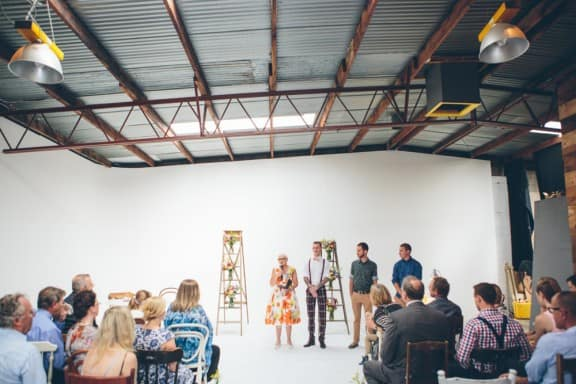 A quirky warehouse wedding at Tenth & Gibson, Adelaide