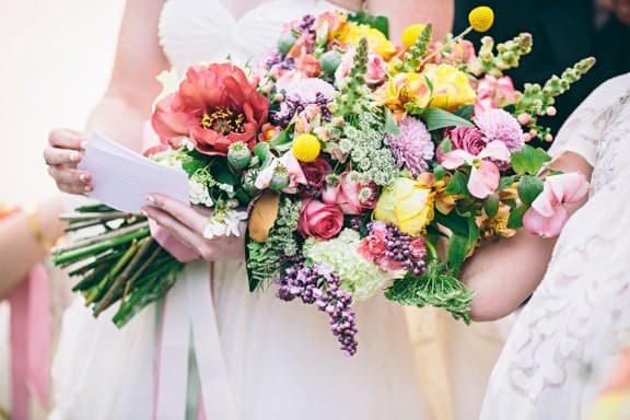 Wedding bouquet by Clarence | Photography by We Are Alchemy