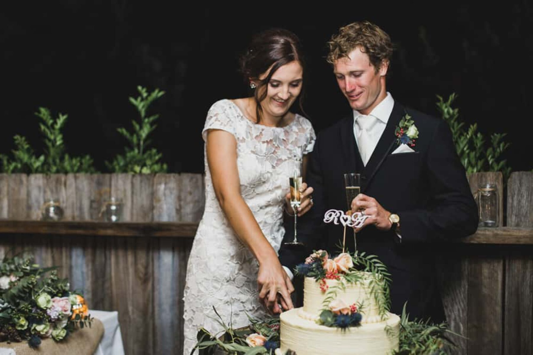 Australian outback wedding