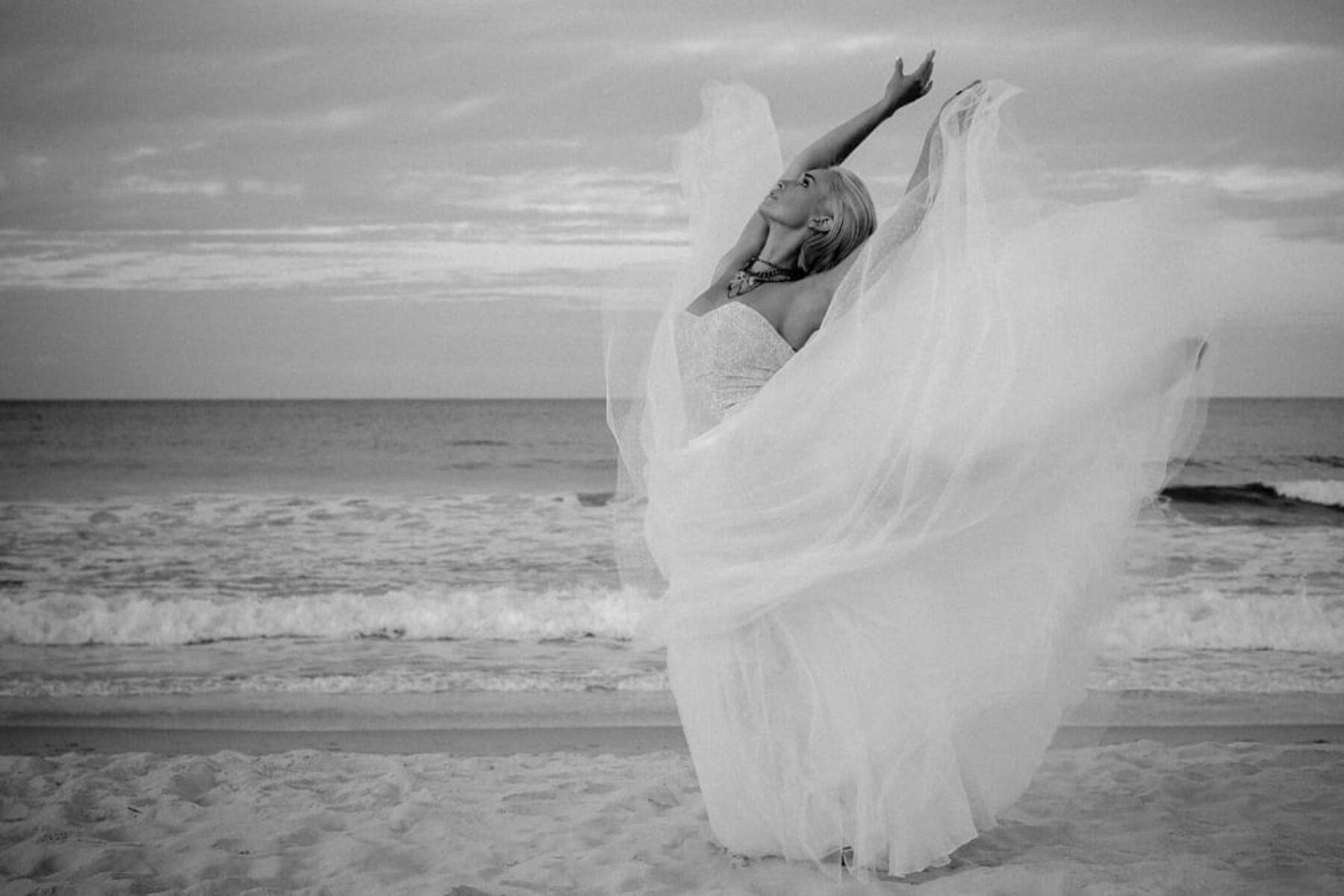 Last Light | Edgy ballet bridal editorial by Roost Film Co.