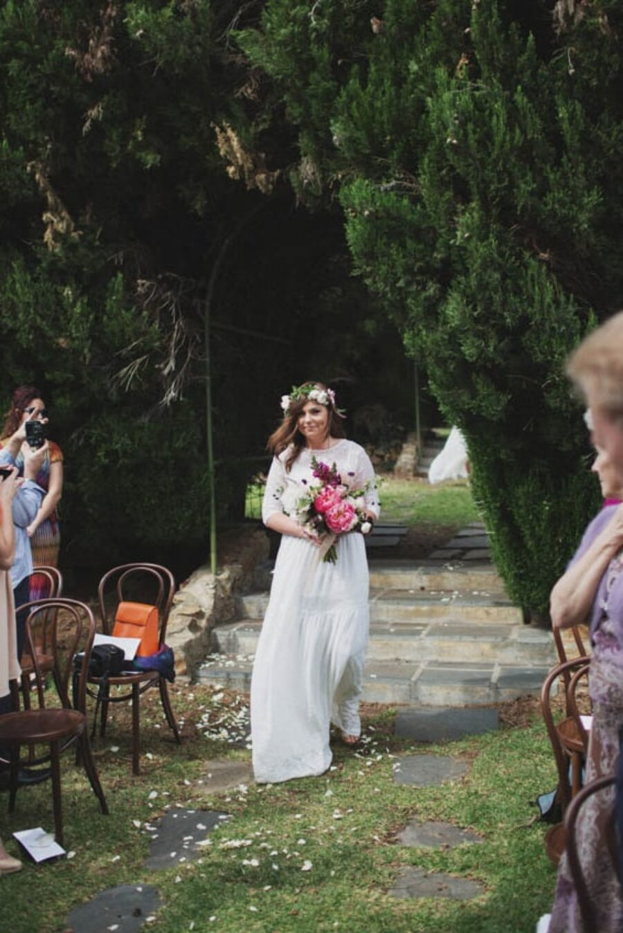Garden wedding at Adelaide's Carrick Hill | Whitewall Photography