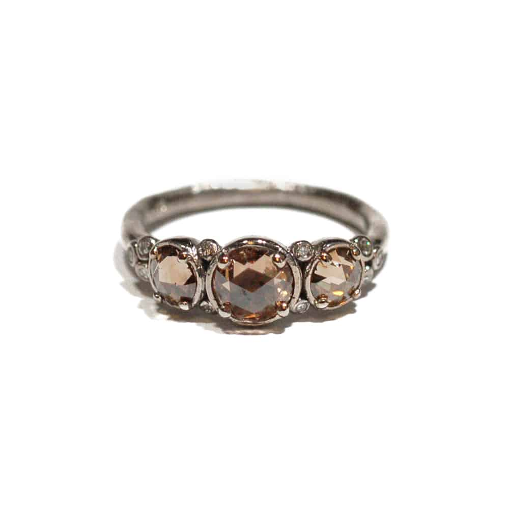 pave band bands rough with unique pin engagement cut sparkly ring diamond