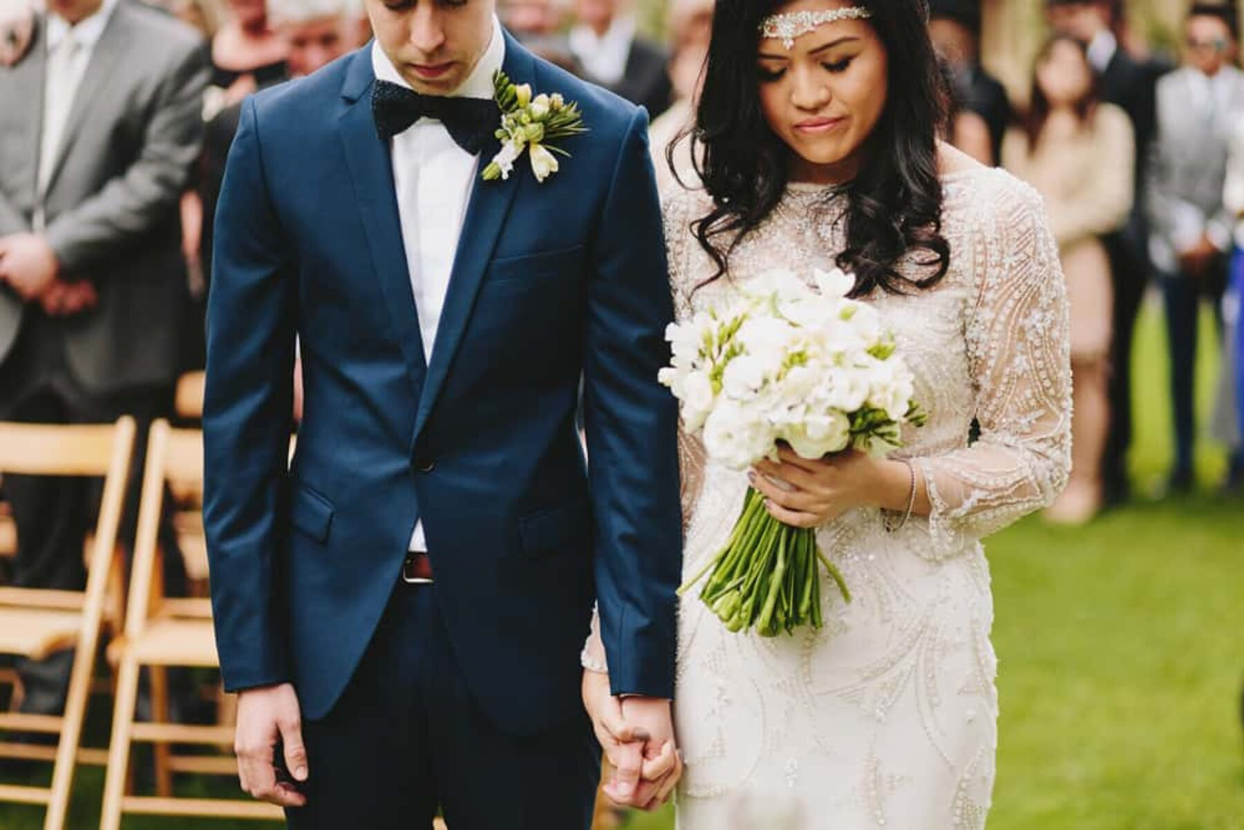 Melbourne Royal Botanic Gardens wedding / Photography by Jonathan Ong