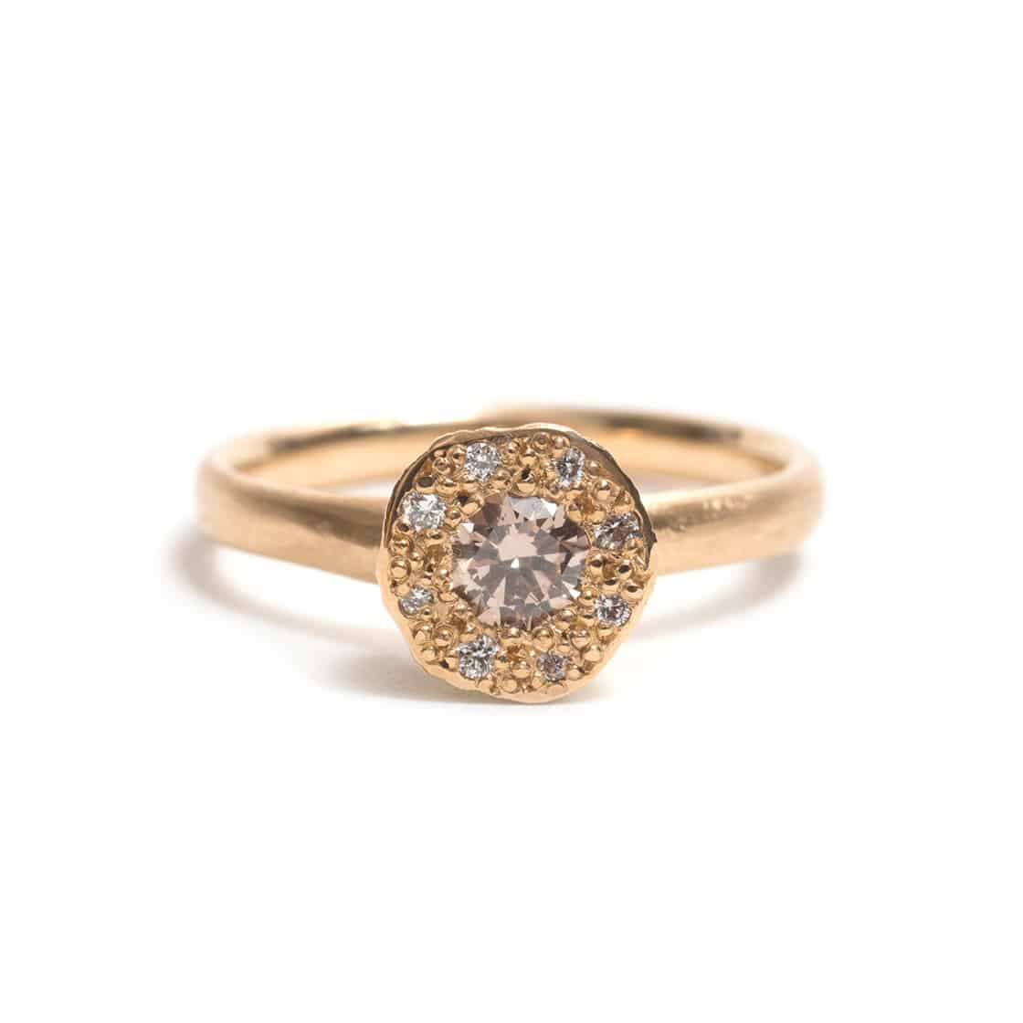 Unique engagement rings by Australian jewelers / Karla Way handcrafted engagement ring
