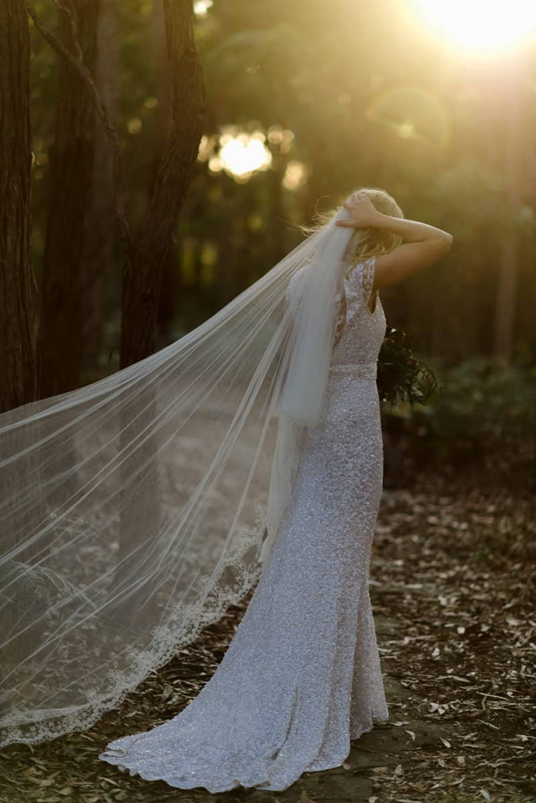 Winter forest wedding, Terrigal NSW / Photography by Keelan Christopher