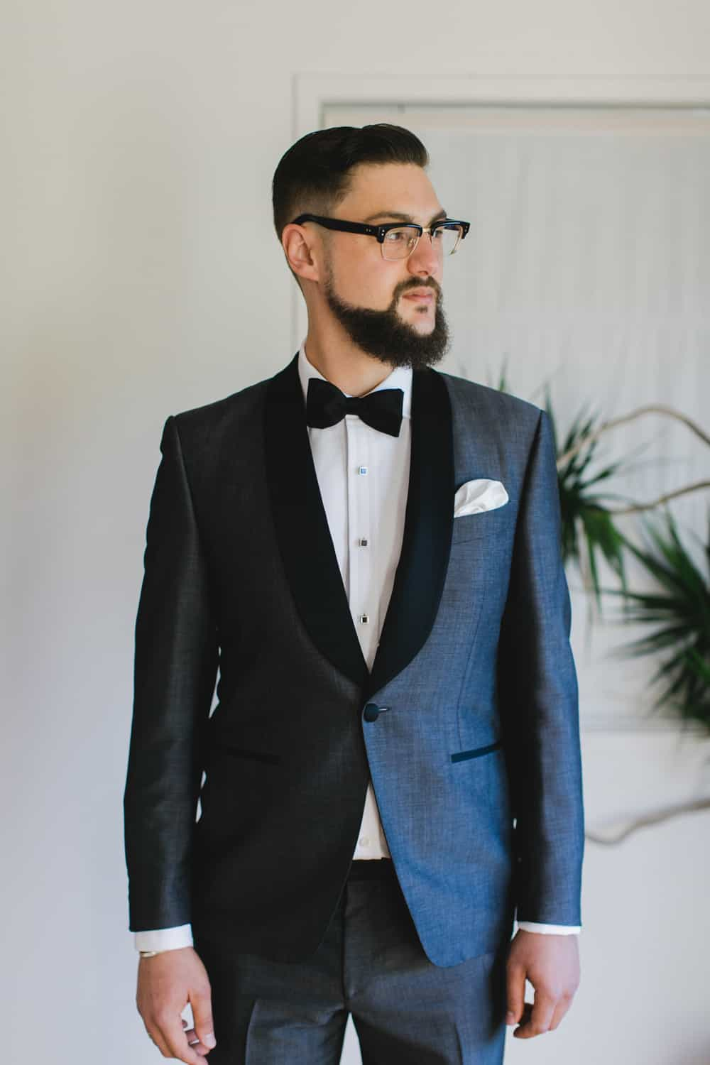 2015's best gressed grooms / bespoke dinner jacket by Charlie Allen