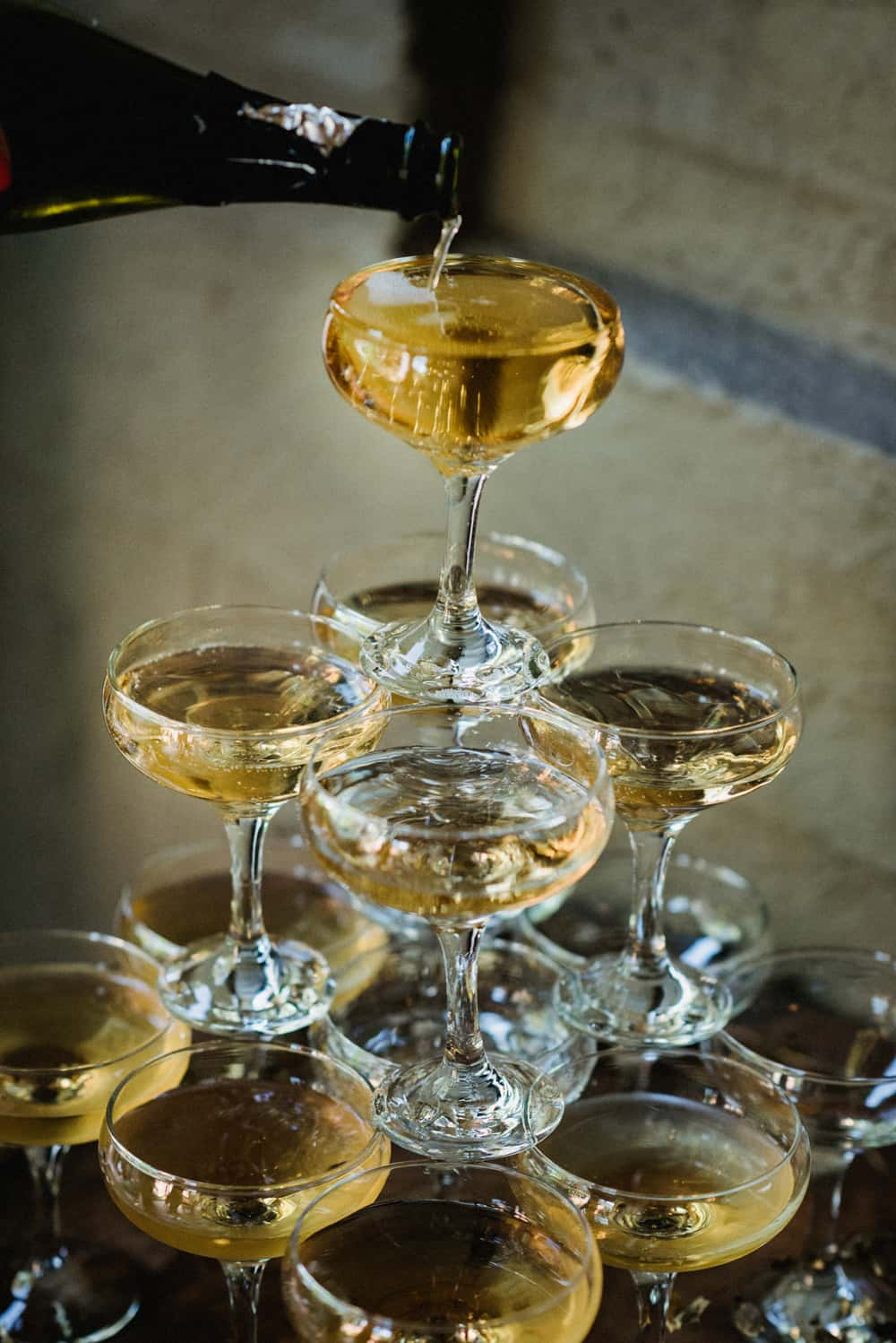 How to make a Champagne tower for your NYE party