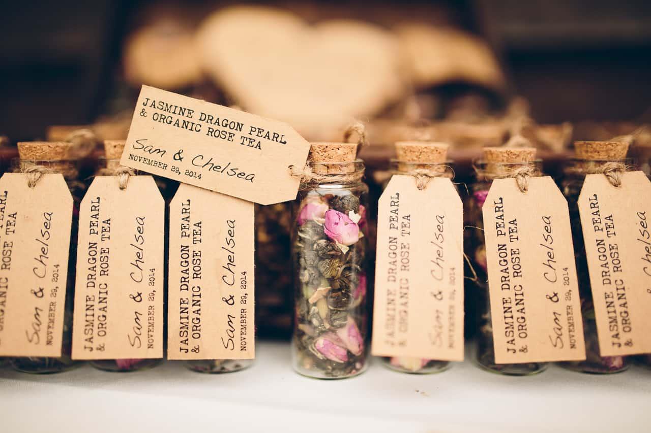 Best DIY Wedding Details Of 2015 Loose Leaf Tea Wedding Favours
